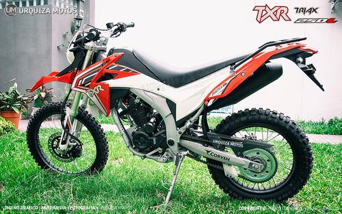 nuevo corven triax txr 250 l moto enduro cross 0km