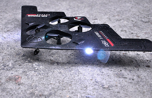 nuevo cuadricoptero  r.c. stealth  fighter  2.4g  4.5ch
