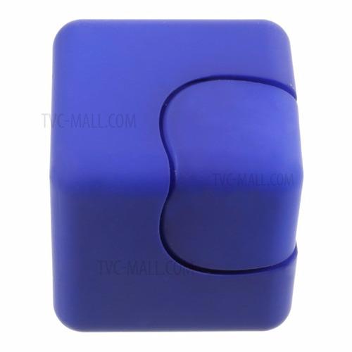 nuevo cubo spinner - anti-estrés - rojo-negro-azul