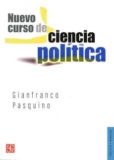nuevo curso de ciencia política, pasquino, ed. fce