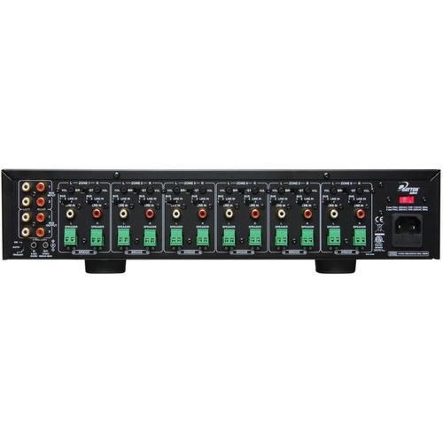 nuevo dayton ma1240a amplificador 12 zonas 40 watts / canal