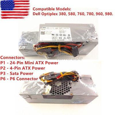 nuevo dell optiplex 760 780 sff poder suministrarnos 235w