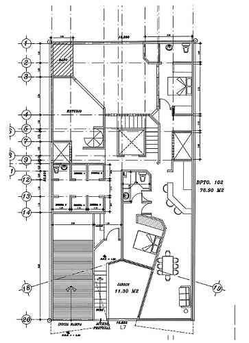 nuevo departamento con terraza