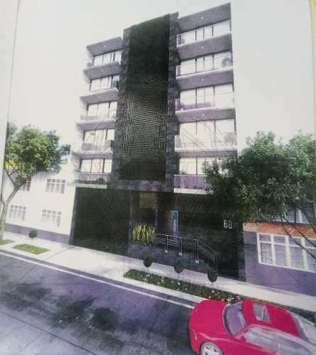 nuevo departamento con terraza , wisconsin col. napoles (lg)