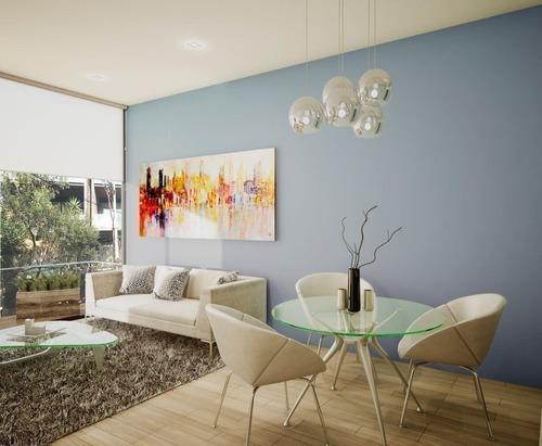 nuevo departamento en pre-venta 130 m2 en colonia del valle.