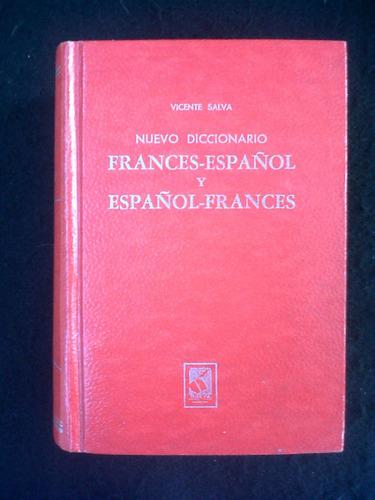 nuevo diccionario frances-español y español-frances