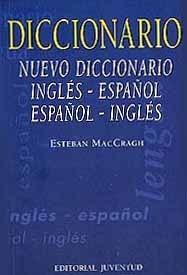 nuevo diccionario inglés - español, maccragh, juventud