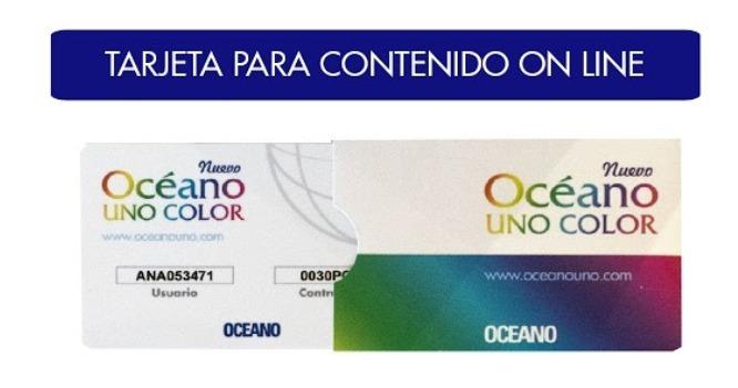 Nuevo Diccionario Océano Uno Color 2018 - $ 2.999,00 en Mercado Libre