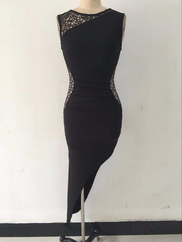 nuevo diseño de vestido de fiesta con encaje 2017(por encarg