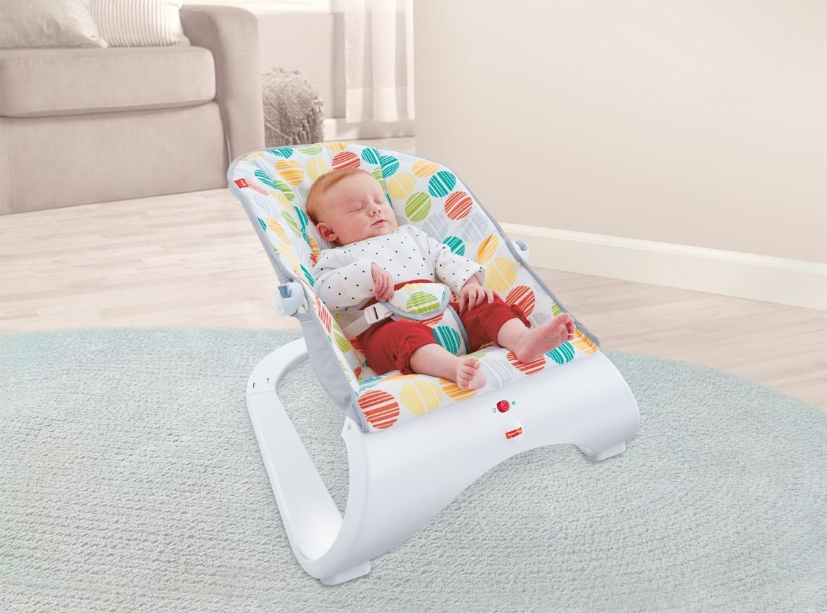 Nuevo diseno silla vibradora fisher price para bebe for Silla antireflujo