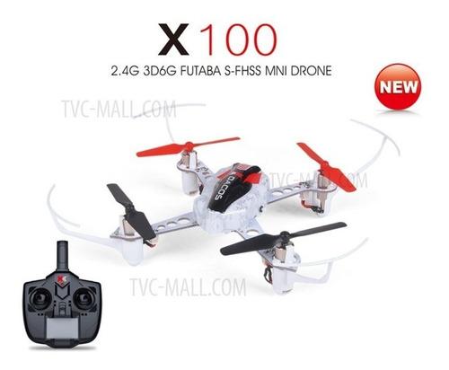 nuevo drone 3d 6g xk x100 dexterity 6ch futaba s-fhss