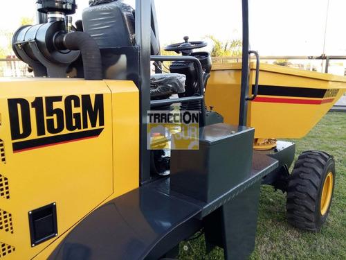 nuevo dumper volquete d15gm michigan 1.5 mt3