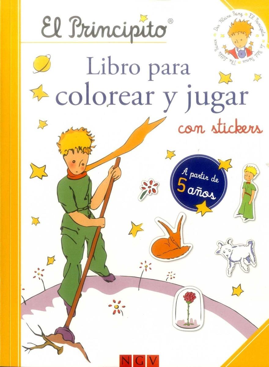 Nuevo Editorial: Ngv 0 El Principito Libro Para Colorear Y J ...