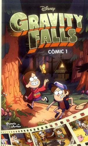 nuevo editorial:planetajunior infantil comic 1 gravity fall