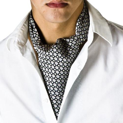 nuevo elegante gazne,cravat,ascot para caballero + pañuelo