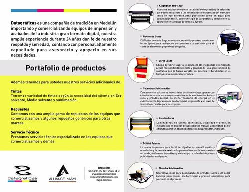 nuevo epson dx7 sublimación  o publicidad impresora plotter