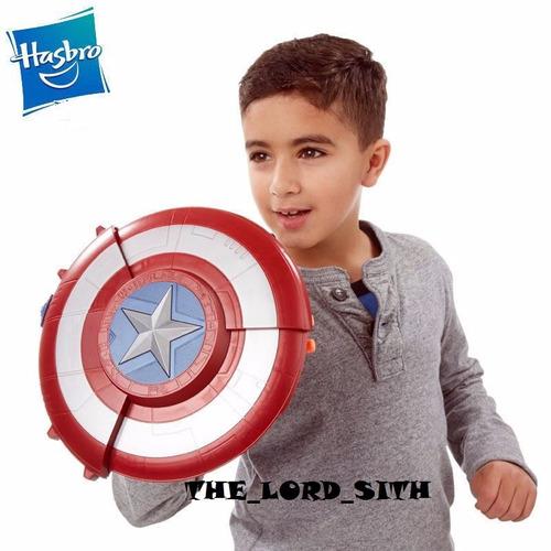 nuevo escudo de ataque sorpresa de hasbro y capitan america