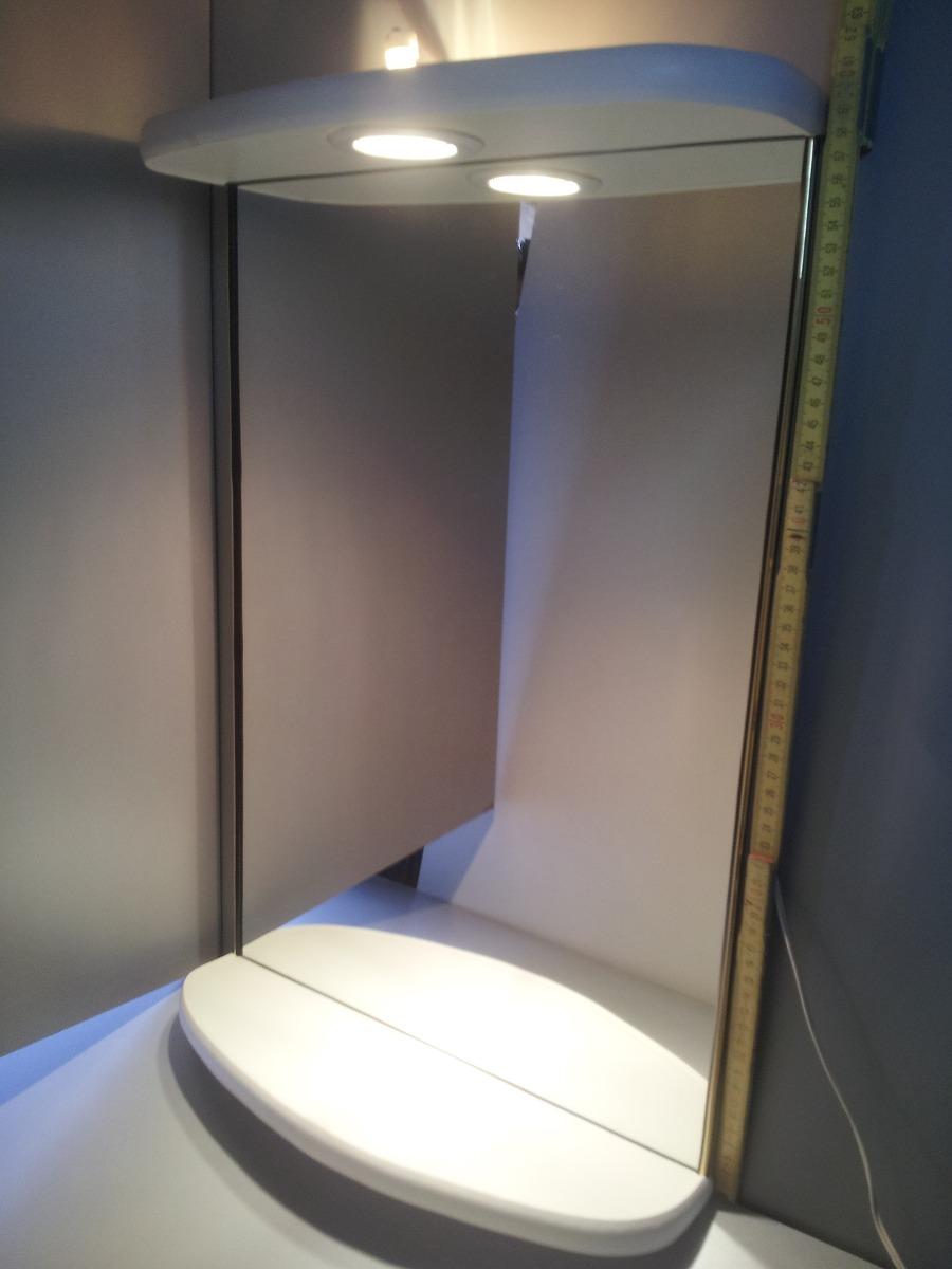 Nuevo espejo con luz para ba o living o dormitorio 1 - Luz para banos ...