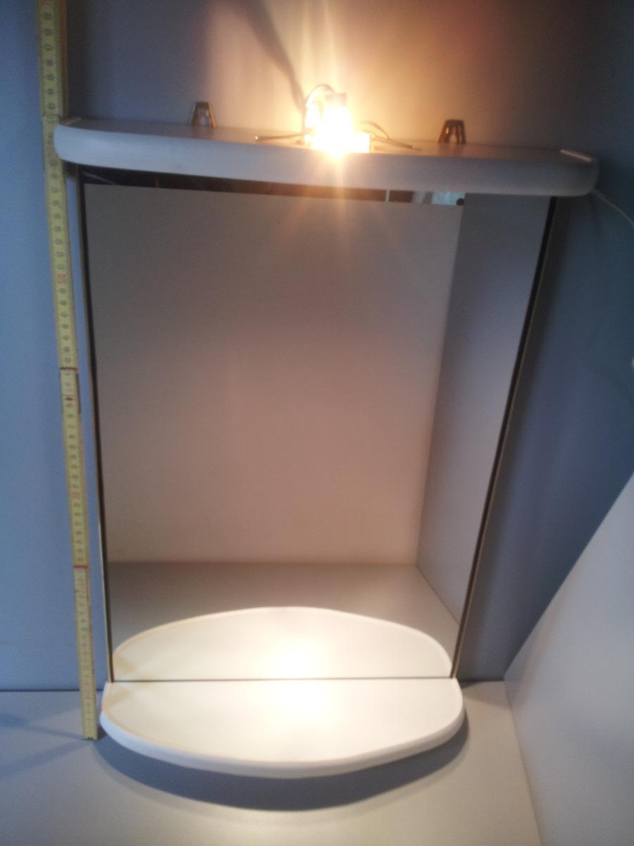 Nuevo espejo con luz para ba o living o dormitorio en mercado libre - Luz para dormitorio ...