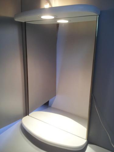 nuevo espejo con luz para baño, living o dormitorio.