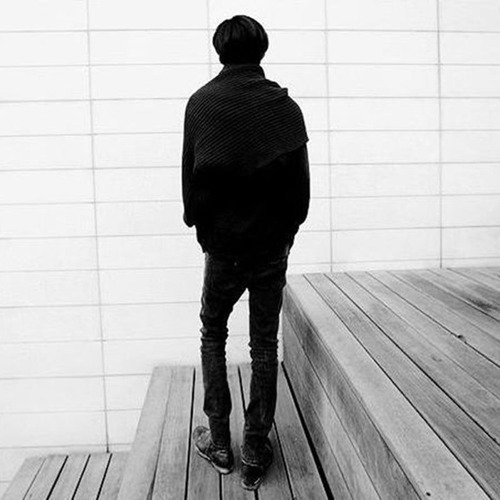 nuevo estilo coreano otoño invierno unisex... (black)