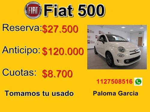nuevo fiat 500 sport usados o 120 mil creditos de fabrica