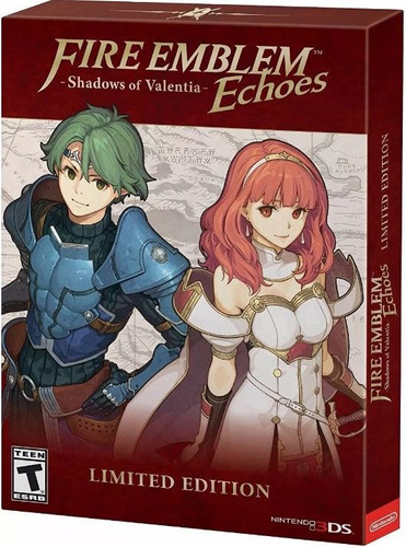 nuevo fire emblem echoes shadows of valentia nintendo 3ds