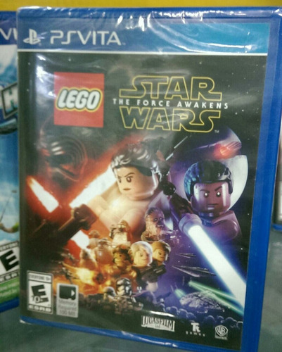 nuevo fisico ps vita lego star wars the force awakens