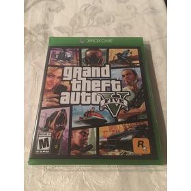 Nuevo Fisico Xbox One Gta  Grand Theft Auto  Resellado