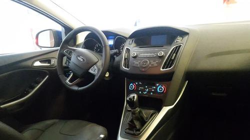 nuevo ford focus 3 1.6l entrega inmediata 4 y 5 puertas.