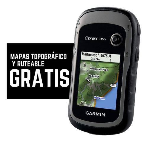nuevo garmin etrex 30x gps gratis mapas entrega inmediata
