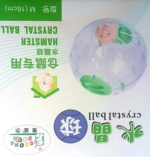 nuevo !! globo plastico  divertido para hamster ,jerbos etc.