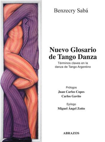 nuevo glosario de tango danza + dvd interactivo