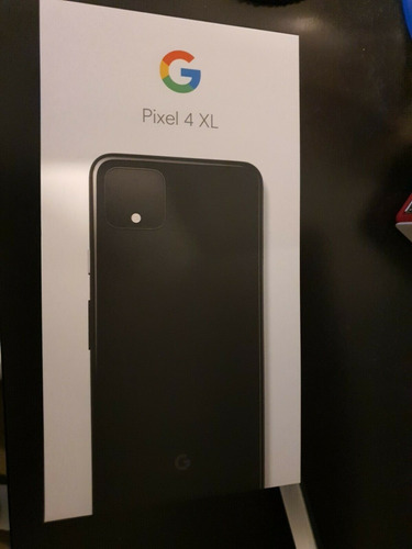 nuevo google pixel 4 xl - 64gb - just black (desbloqueado)