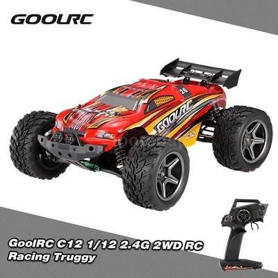 nuevo goolrc c12 2.4ghz 2wd 1/12 cepillado 35km/h coche rc