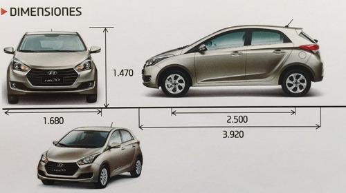 nuevo hb20 sedan 1.6 122 hp 6 mt usd 18.990 5 años de gtia