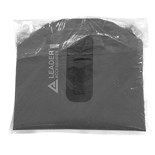 nuevo heavy duty vinyl 20l negro bolsa impermeable a prueba