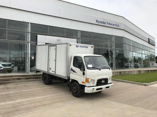nuevo hyundai hd-65 furgón de fábrica-la mejor terminación!!