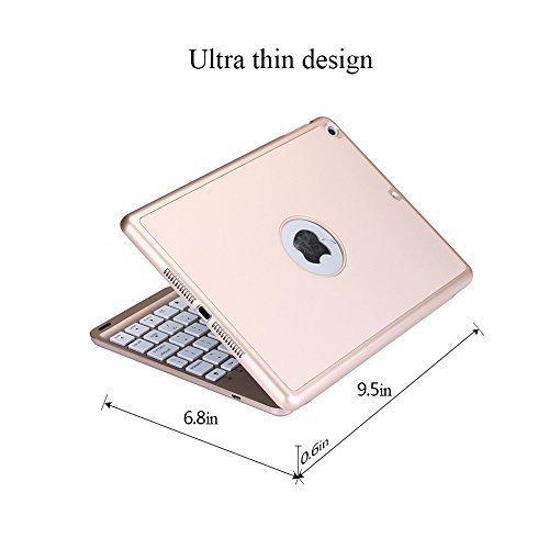 nuevo ipad 9.7 keyboard case 2017, ipad air