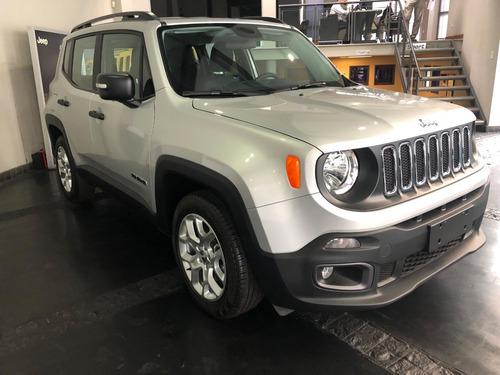 nuevo jeep renegade 1.8 sport manual 0km stock sport cars