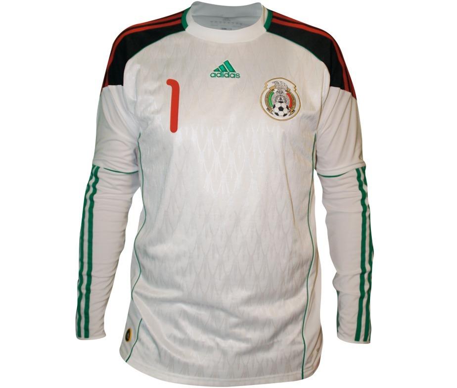 89233997673a0 nuevo jersey adidas mexico portero sudafrica 10 manga larga. Cargando zoom.