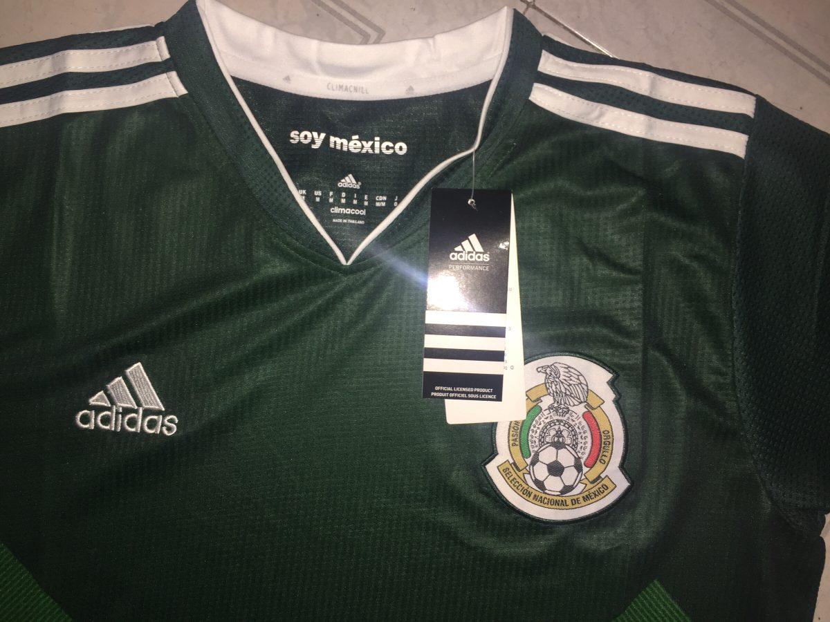 7b2c09822435d Nuevo Jersey Mexico 2017 (copa Confederaciones Y Oro) -   650.00 en ...
