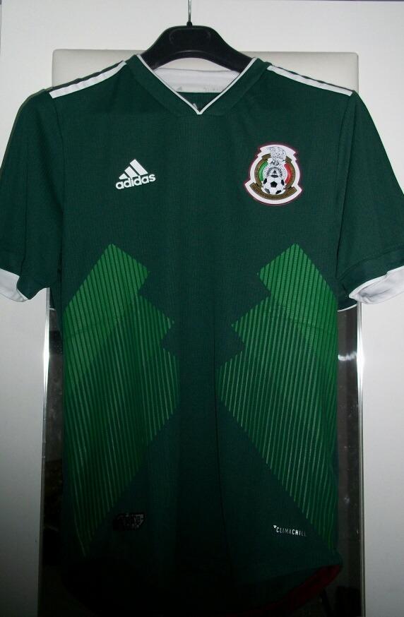 80b912286aa70 nuevo jersey mexico 2018 climachill original utileria mundia. Cargando zoom.