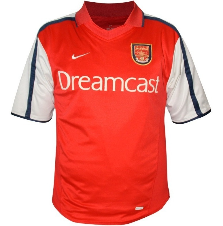 low priced e7bf9 638ca Nuevo Jersey Nike Arsenal 01 02 Kanu 25 Nigeria Super-soccer
