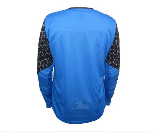 nuevo jersey para portero de manga larga con protecciones modelo rinat lajud 2020 - envio gratis - mundo arquero