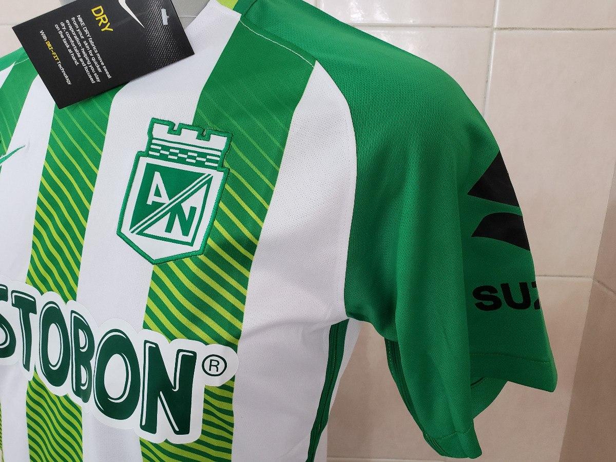 ... cargando zoom with uniformes de futbol  wide varieties e5c5c 1b3fb  nuevo jersey playera atletico nacinal local 2018 colombia. eb93c5199ab91