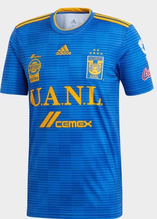 d999decb5aca3 Nuevo Jersey Playera Tigres Azul 2018-2019 -   549.00 en Mercado Libre