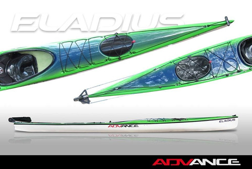 nuevo kayak de travesia marca eladius modelo advance