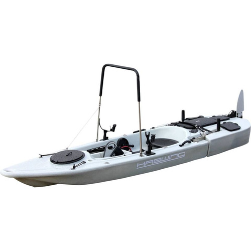 nuevo kayak electrico haswing 40lbs original - garantia