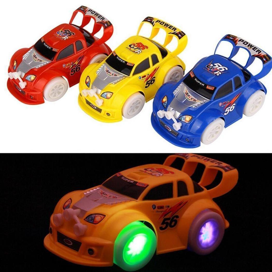 Juguete Música Car Coche Luminoso Nuevo Eléctrico Kids Niños IbfvY7y6g